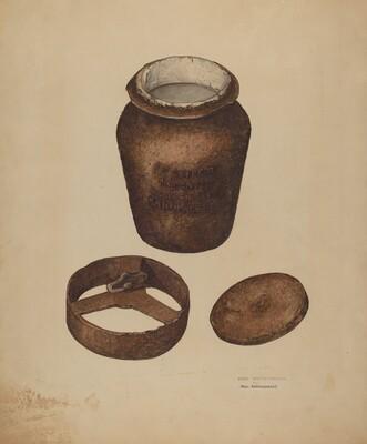 Cast Iron Fruit Jar