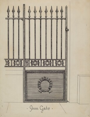 Cast Iron Gateway
