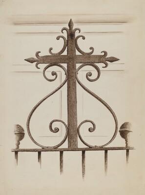 Wrought Iron Cross