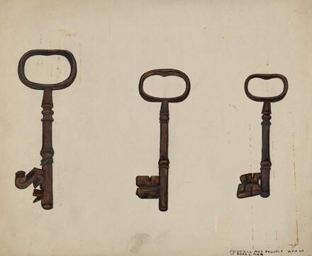 Keys to John Marshall House
