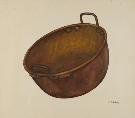 Copper Candy Vessel