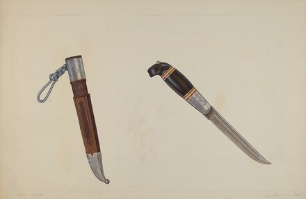 Trapper's Hunting Knife