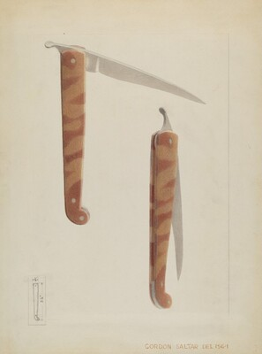 Quill Sharpener Knife