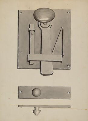 Combination Latch/Lock
