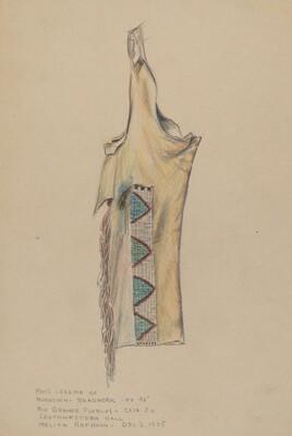 Buckskin Legging with Beadwork