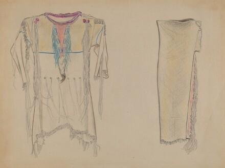 Buckskin Shirt and Leggings