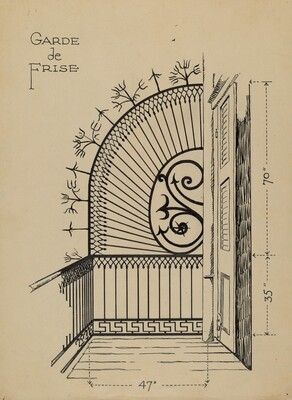 Iron Balcony Garde