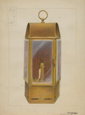 Wardroom Lamp from Constitution