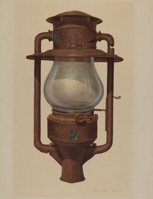 Street Post Lamp