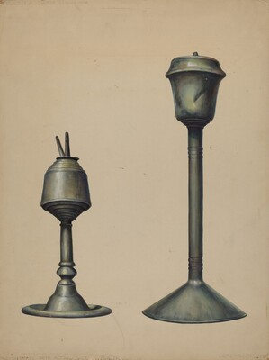 Two Oil Lamps