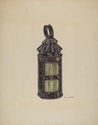 Horn Lantern