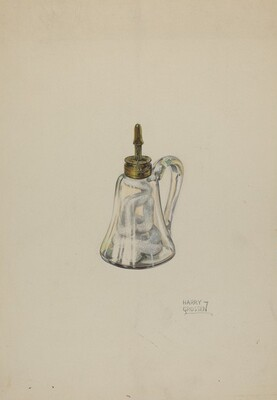 Glass Camphene Lamp