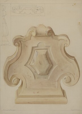 Marble Ornament (from top of mantelpiece)