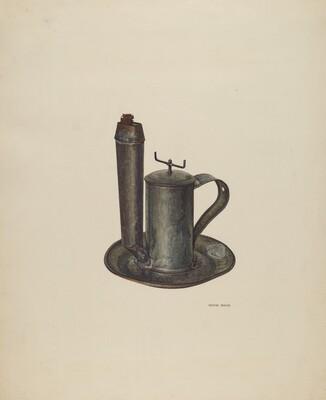 Lard Lamp