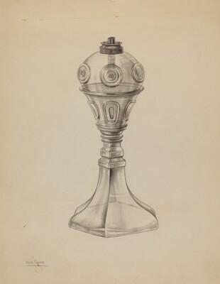 Whale Oil Lamp