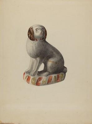 Pa. German Dog Figurine
