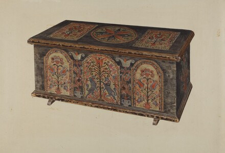 Pa. German Dowry Chest