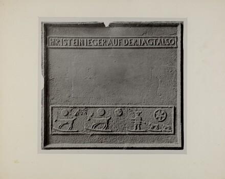 Pa. German Stove Plate