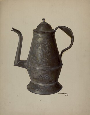 Pa. German Teapot