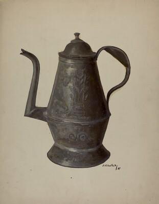 Pa. German Teapot