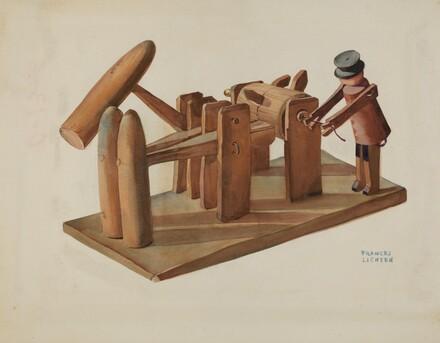Pa. German Toy Stamping Mill