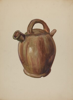 Pa. German Cider Jug
