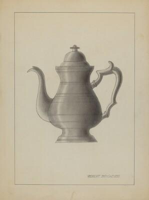 Pewter Coffee Pot