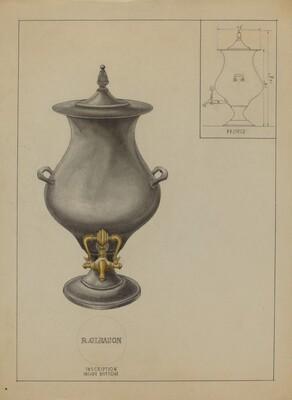 Pewter Coffee Urn