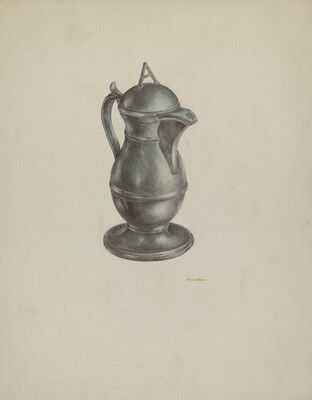 Pewter Jar