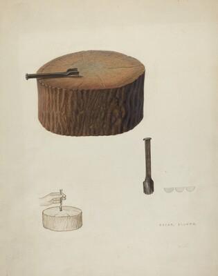 Plinker and Wood Block