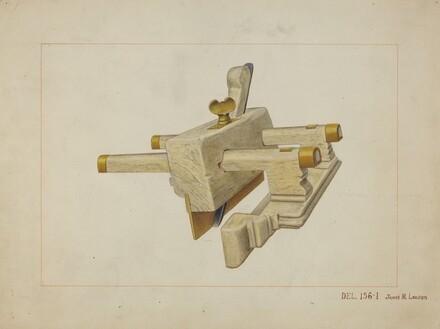 Ivory Carpenter's Plane
