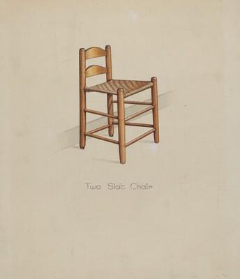 Shaker Two Slat Chair