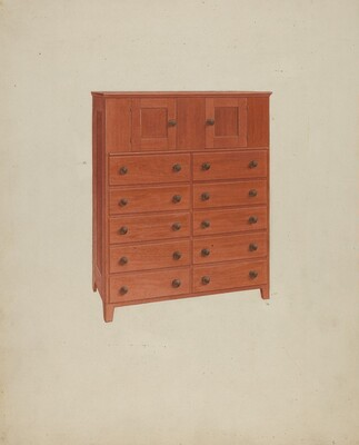 Shaker Chest of Drawers