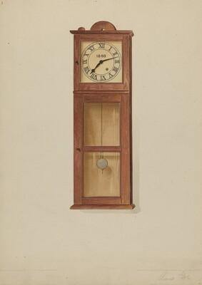 Shaker Wall Clock