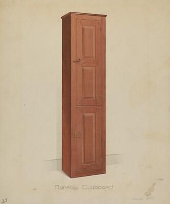 Shaker Tall Tin Cupboard
