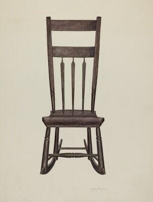 Shaker Nursing Chair