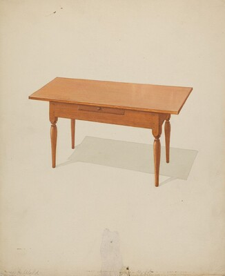 Shaker Low Table