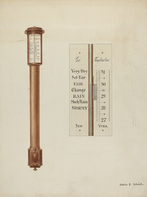 Shaker Barometer
