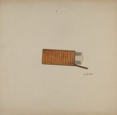Shaker Comb and Case