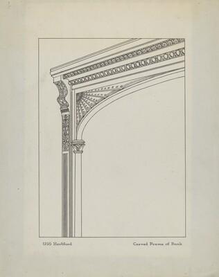 Carved Frame of Bunk