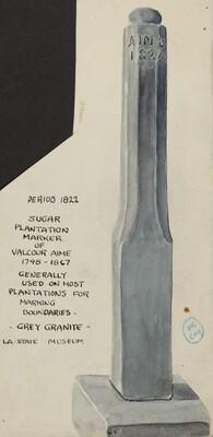 Sugar Plantation Marker