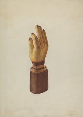 Hand Glove Advertisement