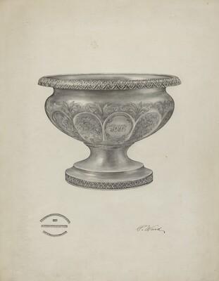 Silver Christening Bowl