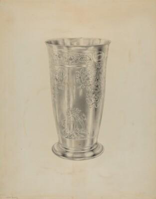 Silver Communion Beaker
