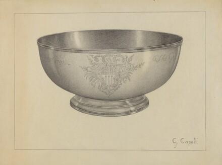 Silver Baptismal Bowl