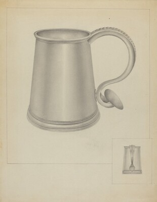 Silver Communion Mug