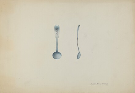 Silver Salt Spoon