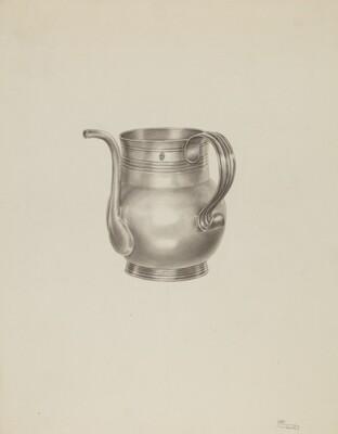 Silver Spout Cup