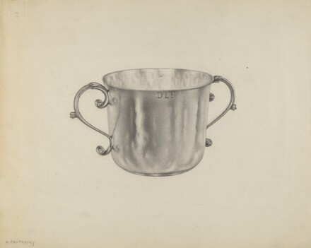 Silver Caudle Cup