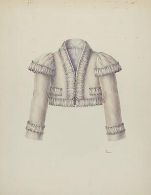 Embroidered Bolero Jacket